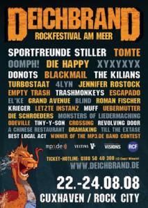 Deichbrand Plakat