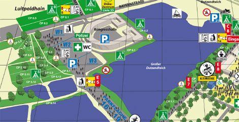 Uferflächen sollen wegfallen - dafür das Campingareal im Norden erweitert werden