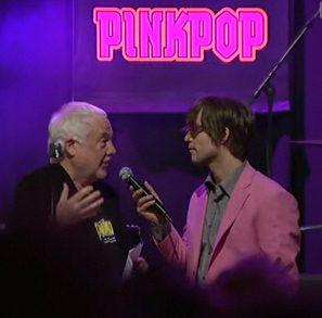 Jan Smeets im Talk mit dem Moderator der Show