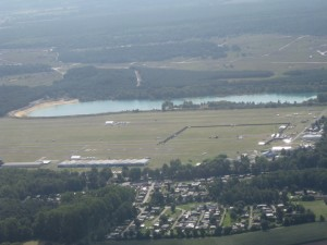 Luftansicht des Festivalgeländes 2009