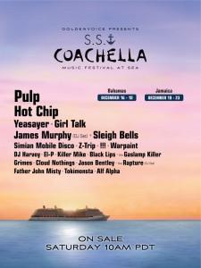 S.S. Coachella Line Up