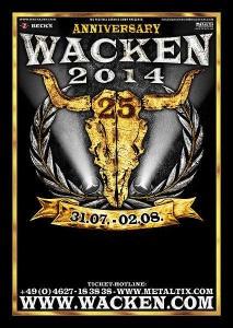 Wacken 2014 Logo