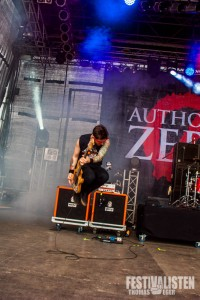 Authority Zero beim Mair1, Foto: Thomas Eger